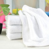 3060cm high-grade Embroidered Towel Luxury Hotel White dark gray Bath Towel Cotton Sof...