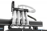 ELECNC-1325 Multi-head 4 axis CNC Router