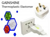 Inflaming retarding Thermoplastic Elastomer for Plug