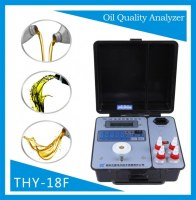 Quick test kit of lube oil quality