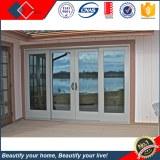 Doble vidrio construido en persianas de aluminio puertas y ventanas con la particion de...