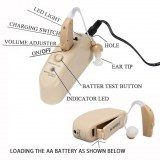 JH-337 BTE Rechargeable Hearing Aid / Hearing Amplifier