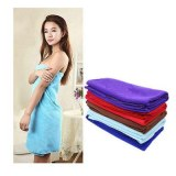 High Quality 80140cm Functional Soft Absorbent Microfiber Beach Bath Towel Travel Gem...