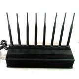 8 Antennas High Power GPS/ WiFi/ 4G(LTE+Wimax) Jammer