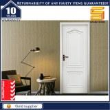 Wood Interior Exterior Solid Wooden Panel PVC Glass Door