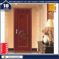 Wooden Interior Glass Sliding Solid Wood Bathroom Folding Door