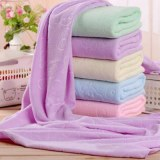 DIDIHOU Nano Ultrafine Fiber Quick-dry Towel Bear Cartoon Microfiber Absorbent Beach Ba...
