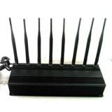 8 Antennas High Power GPS/ WiFi/ 315/ 433 Jammer