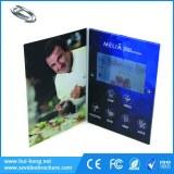 Personalizados de TFT LCD de video del folleto para la comercialización y la promoción