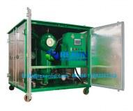 Installation de purification d'huile isolante sous vide biopulaire ZYD-50 (3000LPH)
