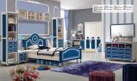 Dormitorio Princess Blue Oak MDF niños de muebles