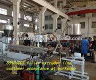 Filler masterbatch machine for plastic granules