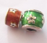 Sell Handmade Sterling Silver and Enamel Beads