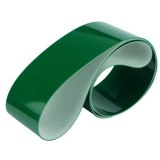 2mm Ply Green Conveyor Belt Smooth Pvc Top Fabric Rough Bottom PB-G20