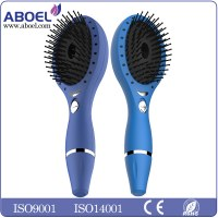 2016 Newest Arrival Ionic Massage Vibrating LED Hair Brush