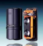Infrared beam sensor for perimeter alarm system