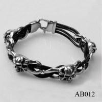 AB012 Hot Fashion Skull Bracelet Jewelry