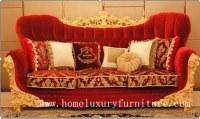 Sofás de lujo AI-268 del estilo de Francia de los muebles del hogar clásico del sofá de...