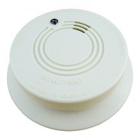 Wireless Photoelectric Smoke Detector Tester Sensor Detection Fire Alarm System With Ba...