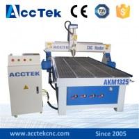 Enrutador china de Jinan AccTek AKM1325 carpintería CNC