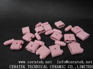 Alumina ceramic beads for PWHT