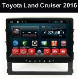 2016 sistema del coche DVD GPS Android de cuatro núcleos Toyota Land Cruiser
