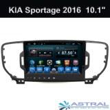 2 DIN de cuatro núcleos de navegación multimedia del coche KIA Sportage 2016