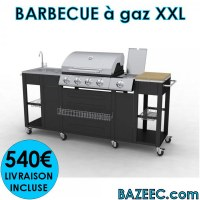 Barbecue à gaz XXL LIVRAISON GRATUITE