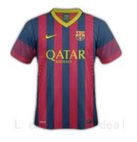 FC BARCELONE : MAILLOT SAISON 2014