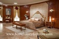 Acueste la cama antigua FB-138 de madera sólida de Kingbed de los muebles del dormitori...