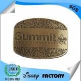 Custom logosoft enamel metal zinc alloy belt buckle
