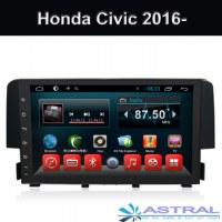 Mejor Radio Auto sistema de navegación GPS al por mayor de Honda Civic 2016 2017