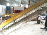 Suministro de fábrica de horno de calefacción de inducción de frecuencia media