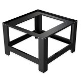 Herzberg HG-WP1 : Socle universel pour lave-linge Noire