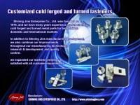 Sujetadores y remaches personalizados fabricados en Taiwán