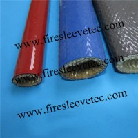 BST High Temp Silicone Fiberglass Fire Sleeves