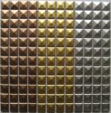 Building Material Metal Mosaic Glazed Ceramic Mosaic
