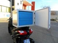 Caja isotermica para scooteres y motocicletas