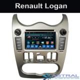 2 Din Android Car System PC Renault Logan Dvd OEM usine