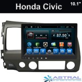 2 Din Car Stereo Gran pantalla de navegación Honda Civic 2006-2011 Radio Player