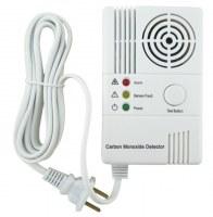 Personal Household CO Gas Leak Detectors Tester Carbon Monoxide Alarms Sensor Wireless...