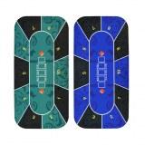 Estera cuadrada modificada para requisitos particulares de la mesa del juego del póker...
