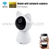 Sistema inalámbrico de la cámara de seguridad casera del wifi de la cámara del gato del gato