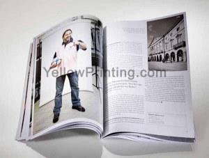 La impresión de catálogos con logotipo de la empresa