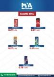 Bebidas gaseosas Coca Cola