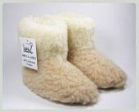 Zapatillas de niño 100% lana virgen de oveja merina