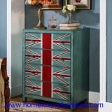 Pecho de madera del gabinete de los pechos de los muebles JY-938 de la sala de estar de...