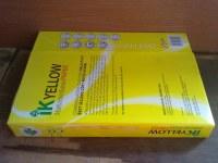 IK A4 AMARILLO COPIA DE PAPEL A4 80GSM / 75gsm / 70gsm 102-104% en venta