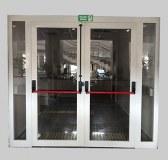 Seguridad contra incendios puerta de fuego