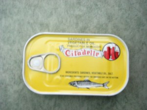 Vente sardine conserve et poisson congele